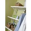 allen + roth 1.6-in x 16-in White Wood Closet Bracket
