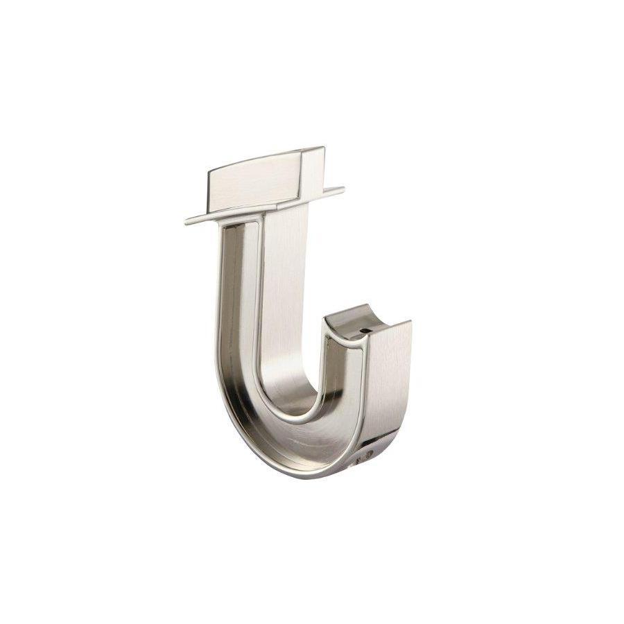 Shop Allen Roth Satin Nickel Closet Rod Hooks At Lowes Com