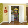 allen + roth 8-ft Java Wood Closet Kit