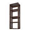 allen + roth 72-in Java Wood Closet Tower