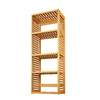 allen + roth 72-in Natural Wood Closet Tower