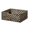 allen + roth Black Wicker Basket