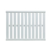 allen + roth 21-in W x 16-in D White Wood Closet Shelf