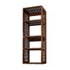 allen + roth 72-in Sable Wood Closet Tower