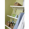 allen + roth 72-in x 16-in White Wood Closet Shelf