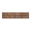allen + roth 72-in x 16-in Sable Wood Closet Shelf