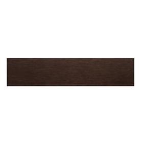 allen + roth 72-in x 16-in Java Wood Closet Shelf