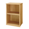 allen + roth 36-in Natural Wood Closet Tower