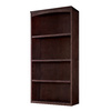 allen + roth 76-in Java Wood Closet Tower