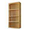 allen + roth 76-in Natural Wood Closet Tower