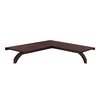 allen + roth 1.5-in W x 40-in D Java Wood Closet Shelf
