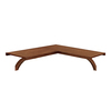 allen + roth 1.5-in W x 40-in D Sable Wood Closet Shelf