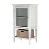 allen + roth Keasdon White Drawer Bank (Common: 18-in; Actual: 18-in)