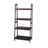 allen + roth Java 24-in W x 55-in H x 14.75-in D 4-Shelf Bookcase