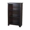 allen + roth Java 27.5-in W x 45.5-in H x 13-in D 3-Shelf Bookcase