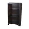 allen + roth Java 27.5-in W x 45.5-in H x 13-in D 3-Shelf Bookcase