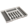 Style Selections 16.06-in x 13.25-in Plastic Multi-Use Insert Drawer Organizer