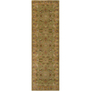 Artistic Weavers Exeter 30-in x 96-in Rectangular Green Floral Area Rug