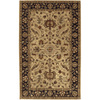 Artistic Weavers Albury 60-in x 96-in Rectangular Yellow/Gold Floral Area Rug