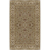 Artistic Weavers Dubbo 96-in x 132-in Rectangular Brown/Tan Floral Area Rug