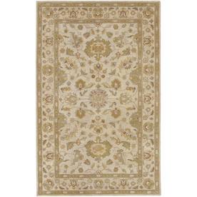 Artistic Weavers Grafton Brown Rectangular Indoor Tufted Area Rug (Common: 5 x 8; Actual: 60-in W x 96-in L x 1.7-ft Dia)