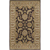 Artistic Weavers Lithgow 60-in x 96-in Rectangular Black Floral Area Rug