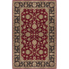 Artistic Weavers Canterbury 96-in x 132-in Rectangular Red/Pink Floral Area Rug