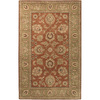 Artistic Weavers Fairfield 96-in x 132-in Rectangular Red/Pink Floral Area Rug