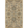 Artistic Weavers Caesar 60-in x 96-in Rectangular Cream/Beige/Almond Floral Area Rug