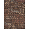 Artistic Weavers Manoa 63-in x 90-in Rectangular Brown/Tan Floral Area Rug