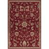 Artistic Weavers Marietta Red Rectangular Indoor Woven Area Rug (Common: 8 x 11; Actual: 94-in W x 130-in L x 2.5-ft Dia)