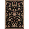 Artistic Weavers Kennesaw 63-in x 90-in Rectangular Black Floral Area Rug