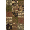 Artistic Weavers Dundee 96-in x 132-in Rectangular Green Floral Area Rug