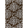 Artistic Weavers Burnley 60-in x 96-in Rectangular Brown/Tan Transitional Area Rug