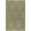 Artistic Weavers Canterbury 96-in x 132-in Rectangular Green Solid Area Rug