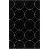 Artistic Weavers Slough 60-in x 96-in Rectangular Black Geometric Area Rug