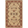 Artistic Weavers Charleston 60-in x 96-in Rectangular Cream/Beige/Almond Floral Area Rug