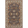 Artistic Weavers Liverpool 96-in x 132-in Rectangular Black Floral Area Rug