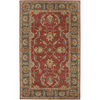 Artistic Weavers Sheffield 96-in x 132-in Rectangular Red/Pink Floral Area Rug