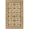 Artistic Weavers Brighton 96-in x 132-in Rectangular Cream/Beige/Almond Floral Area Rug