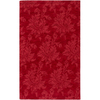 Artistic Weavers Canterbury 96-in x 132-in Rectangular Red/Pink Solid Area Rug