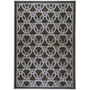 Artistic Weavers Limerick 90-in x 126-in Rectangular Black Geometric Area Rug
