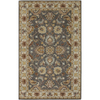 Artistic Weavers Caesar 66-in x 90-in Rectangular Gray/Silver Border Area Rug