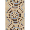 Artistic Weavers Holroyd 96-in x 132-in Rectangular Cream/Beige/Almond Geometric Area Rug