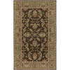 Artistic Weavers Caesar 90-in x 126-in Rectangular Brown/Tan Border Area Rug