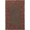 Artistic Weavers Auckland 96-in x 132-in Rectangular Brown/Tan Floral Area Rug