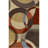 Artistic Weavers Lismore 60-in x 96-in Rectangular Brown/Tan Geometric Area Rug