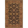 Artistic Weavers Kingston 96-in x 132-in Rectangular Brown/Tan Floral Area Rug