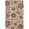 Artistic Weavers Dunedin 96-in x 132-in Rectangular Cream/Beige/Almond Floral Area Rug