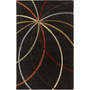 Artistic Weavers Randwick 96-in x 132-in Rectangular Black Geometric Area Rug